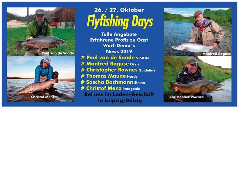 26/27.Oktober 2018 Flyfishing Days beim Angelsachse