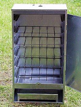 Räucherschrank mit Stahltür