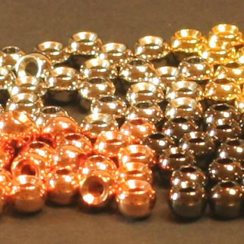 Messing-Perlen 30 Stück   Auswahl: Gold, Kupfer, Silver und Black