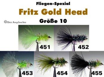Fritz Gold Head Gr.10 (5 verschiedene Sorten zur Auswahl)