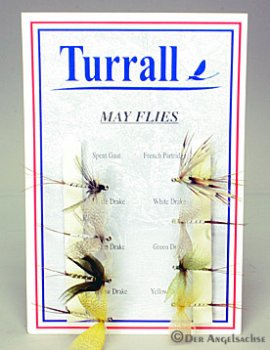 Turrall-Fliegenset - May Flies - 8 Maifliegen