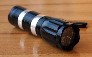 UV Power Lampe  12 LED