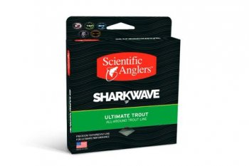 Sharkwave Ultimate Trout WF 4 F     Mist Green / Willow / Dark Willow
