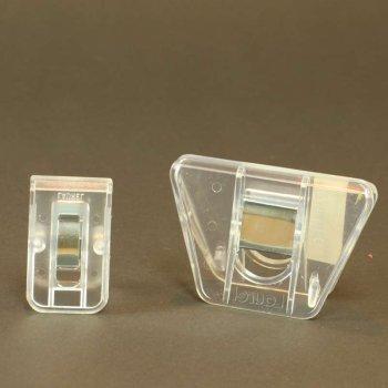 Transparent Material Clip  Materialklemmen