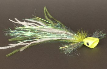 Pike Popper XL Yellow / Chartreuse Hechtfliege