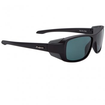 Aqua May Fly Matt Black Polarisationsbrillen