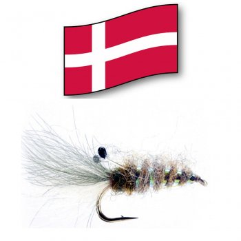 Aura Rejen  -Orginal Dänische Meerforellenfliege-