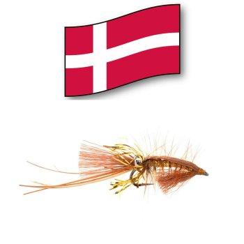 Jims Guld Reje  -Orginal Dänische Meerforellenfliege-