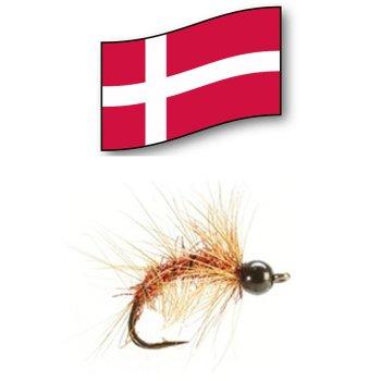 Kobberbassen  -Orginal Dänische Meerforellenfliege-