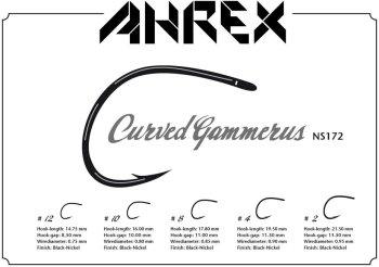Ahrex  NS172  Curved Gammarus  Fliegenhaken
