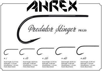 Ahrex  PR320 Predator Stinger  Fliegenhaken