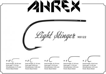 Ahrex  NS122 Light Stinger  Fliegenhaken
