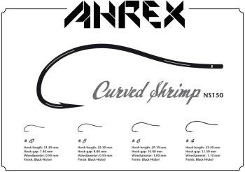 Ahrex  NS150 Curved Shrimp  Fliegenhaken
