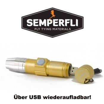 Semperfli USB Chargeable UV Torch Die wiederaufladbare UV-Lampe zum Fliegenbinden!