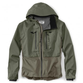 Orvis Pro Wading Jacket Watjacke  Olive/Brown