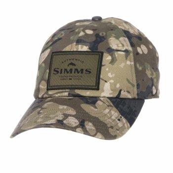 Simms Single Haul Cap Riparian Camo Schirmmütze