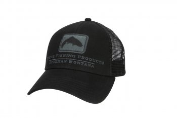 Simms Trout Icon Trucker Schirmmütze Black