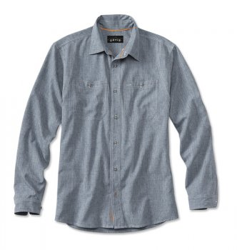 Orvis  Tech Chambray Work Shirt Fliegenfischer-Hemd