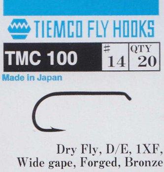 TMC 100 Trockenfliegenhaken
