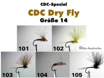 CDC Trockenfliegen