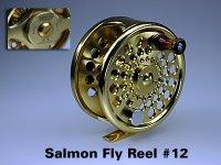 Salmon Fly Reel #12