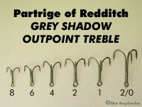 Grey Shadow Outpoint Treble Größen 6