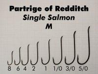Single Salmon M (Größen 8, 6, 4, 2, 1, 1/0, 3/0, 5/0 zur Auswahl