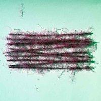 Dubbing Brush Sparkle Marabou