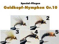 CDC Goldkopf-Nymphen Gr.10