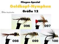 Goldkopfnymphen Größe 12