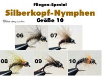 CDC Silberkopf-Nymphen Gr.10
