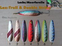 Lax-Troll & Double Strike  12cm  (7 Farb-Modelle zur Auswahl)