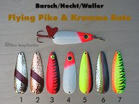 Flying Pike & Krumme Rute  20g  (7 Modelle zur Auswahl)