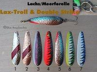 Lax-Troll & Double Strike   8cm  (7 Farben zur Auswahl)