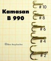 Kamasan B990 Tube Fly Trebles (Größen 2-10 zur Auswahl)