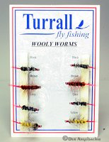 Turrall-Fliegenset - Wolly Worms -