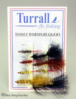 Turrall-Fliegenset - Wolly Worms und Buggers -