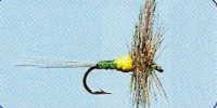 No.10 Blue Winged Olive Dun in Größe 16