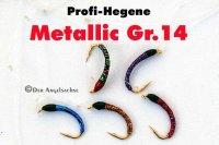 Profi-Hegene Metallic01 auf Hakengröße 14