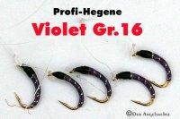 Profi-Hegene Violett auf Hakengröße 16
