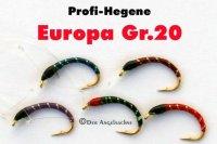 Profi-Plankton-Hegene Europa auf Hakengröße 20