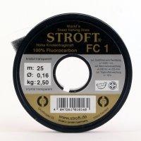 STROFT FC1 Fluorocarbon 25m (17 Durschmesser zur Auswahl)