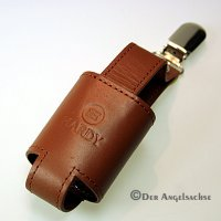 Hardy Leather Powder Holder