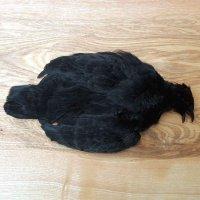 Chinesischer Rebhunbalg Schwarz gefärbt