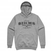 Simms Badge Of Authenticity Hoody Coal Größe XL Ausverkauf