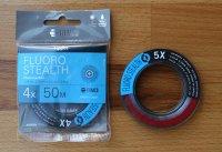 TIEMCO Fluoro STEALTH 50m (3 Durchmesser zur Auswahl)