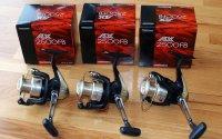 3x Shimano AX 2500 FB