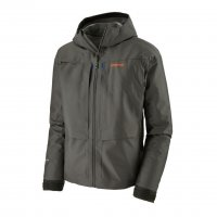 Patagonia Mens River Salt Jacket  Watjacke in Forge Grey