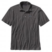 Patagonia Mens Polo - Trout Fitz Roy in Forge Grey (FGE)