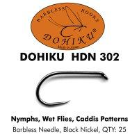 DOHIKU HDN 302 Fliegenhaken für Nymphen, Naßfliegen und Caddis